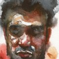 Part of Postcard Project Watercolour on Watercolour Paper.